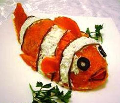 Салаты рыбные